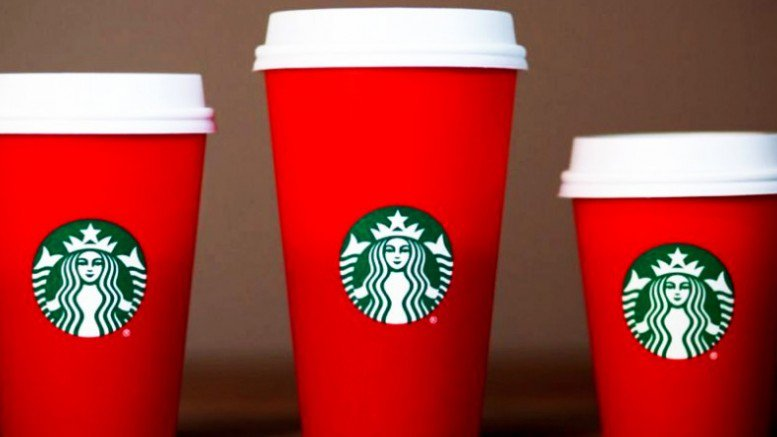 Starbuck's Red Cups