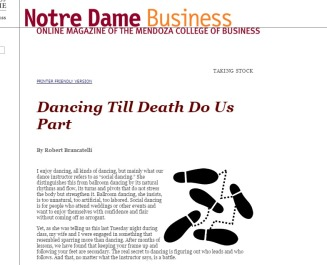 Notre Dame Business Magazine