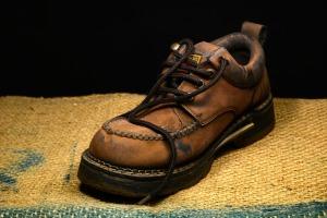 worn-shoe