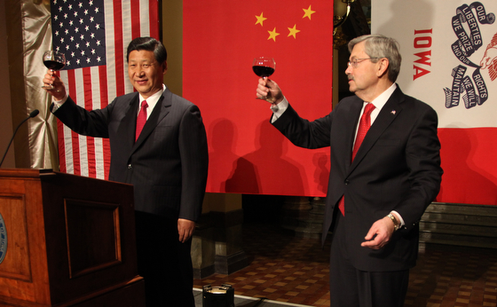 China Vice President Xi JinpingIowa Governor Terry Branstad